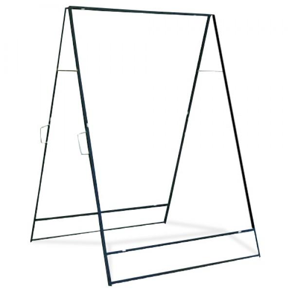 36 X 48 Vertical Mount Sidewalk Folding Frame-1
