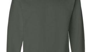 green crewneck sweatshirt