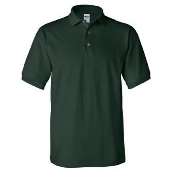 green short sleeve polo
