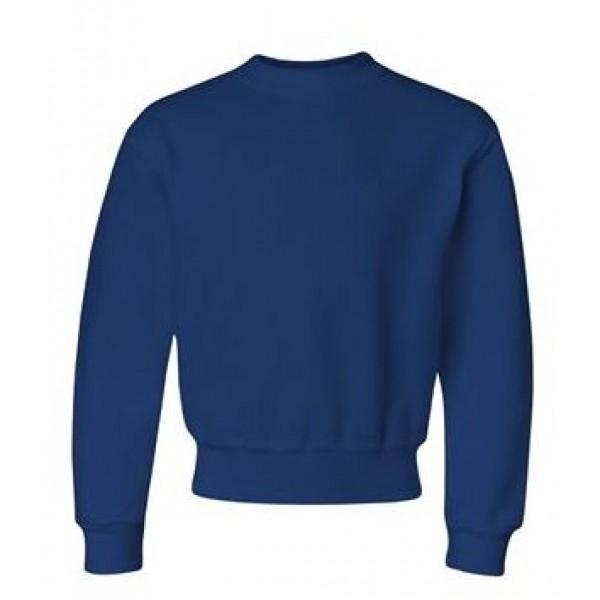 blue youth crewneck sweatshirt