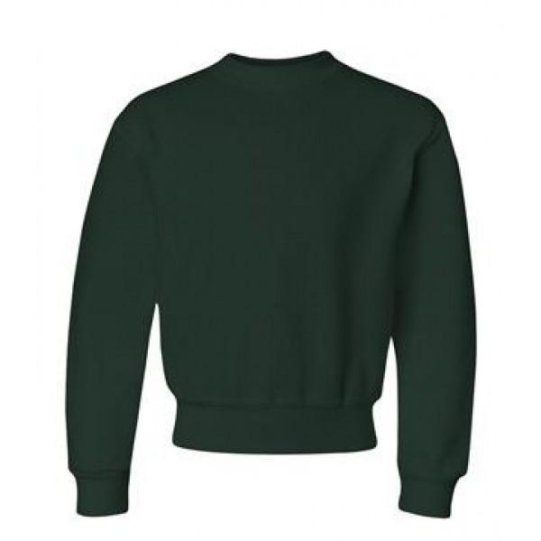green youth crewneck sweatshirt