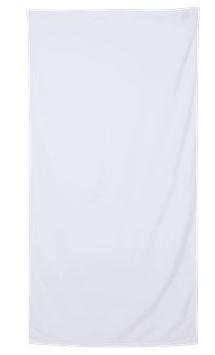 white beach towel
