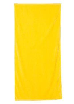 yellow beach towel