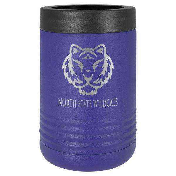 purple insulated beverage holder