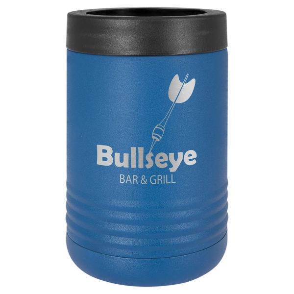 royal blue insulated beverage holder