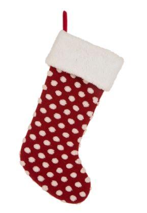 polka dot stocking