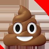 Apple poo emoji