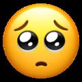 Apple teary eyes emoji