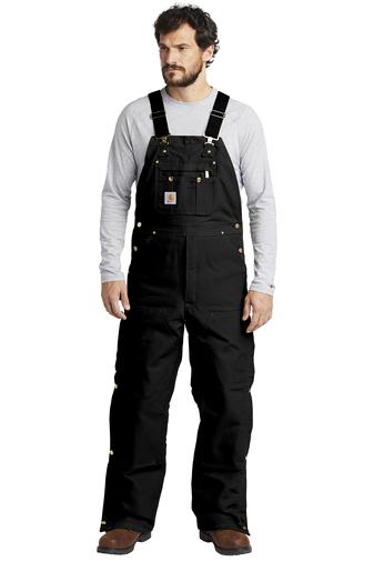 Carhartt bib overalls - black