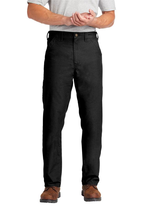 men's Carhartt dungaree - black
