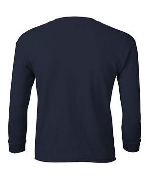 youth navy long sleeve t-shirt