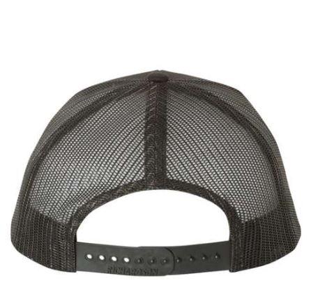 UFB Fabrication black trucker hat back