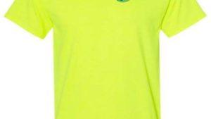 UFB Fabrication safety yellow short sleeve t-shirt