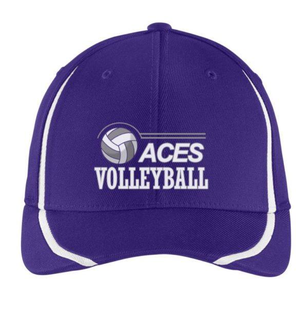 flexfit purple cap